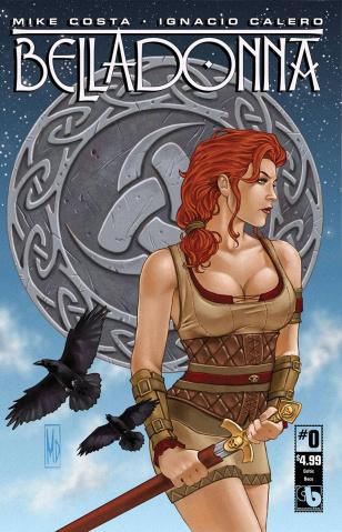 Belladonna #0 (Celtic Deco Cover)