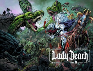 Lady Death #22 (Wrap Cover)