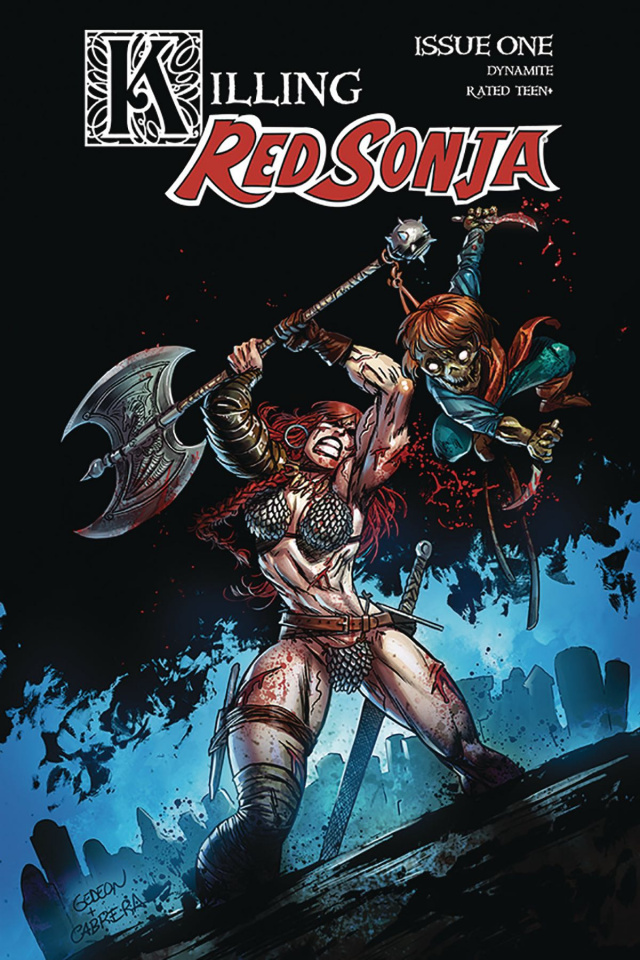 Killing Red Sonja #1 (Gedeon Zombie Cover)