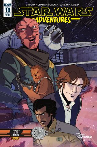 Star Wars Adventures #18 (Florean Cover)