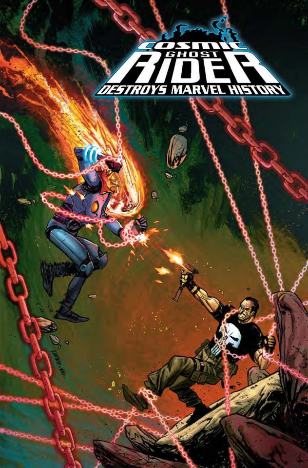 Cosmic Ghost Rider Destroys Marvel History #6 (Jacinto Cover)