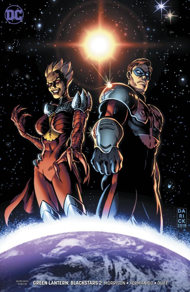 Green Lantern: Blackstars #2 (Variant Cover)