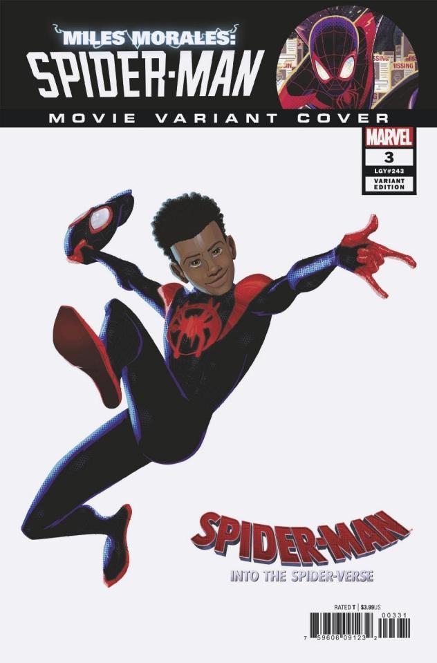 Miles Morales: Spider-Man #3 (Movie Cover)