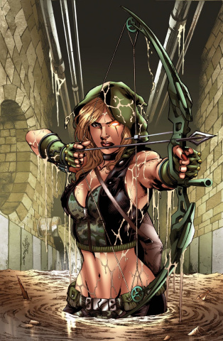 Grimm Fairy Tales: Robyn Hood - I Love NY #2 (Luis Cover)