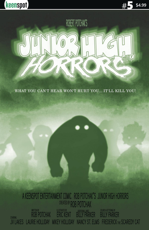 Junior High Horrors #5 (The Fog Parody Cover)