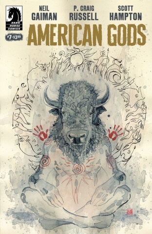American Gods: Shadows #7 (Mack Cover)