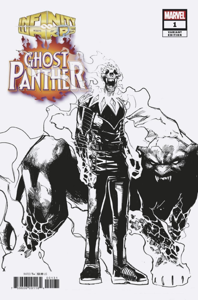 Infinity Wars: Ghost Panther #1 (Ramos Design Cover)