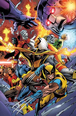 Avengers #10 (Davis Uncanny X-Men Cover)