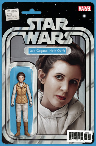 Star Wars #36 (Christopher Action Figure Cover)