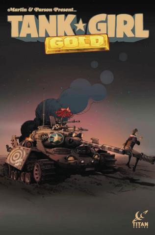 Tank Girl: Gold #1 (Tkachenko Cover)