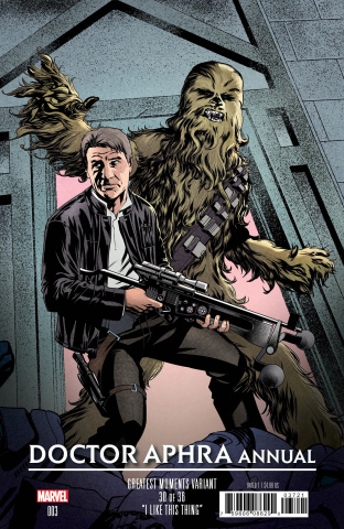 Star Wars: Doctor Aphra Annual #3 (McKone Greatest Moments Cover)
