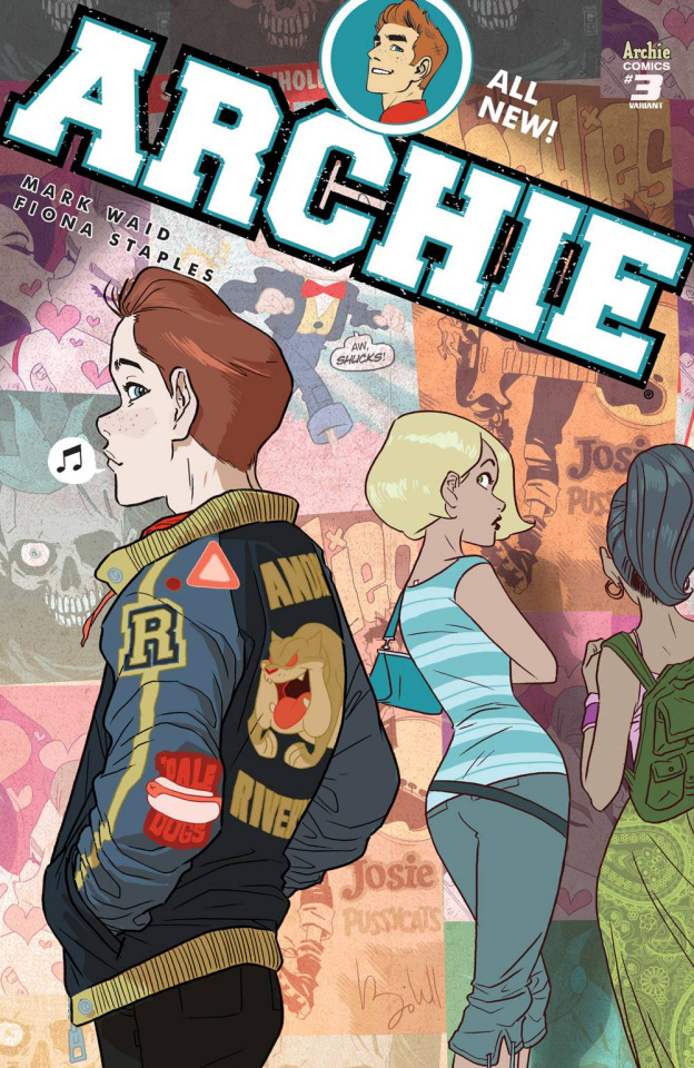 Archie #3 (Caldwell Cover)