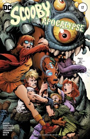 Scooby: Apocalypse #17 (Variant Cover)