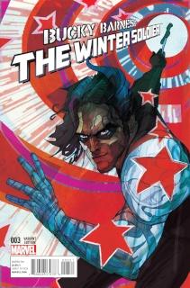 Bucky Barnes: The Winter Soldier #3 (Ward Cover)