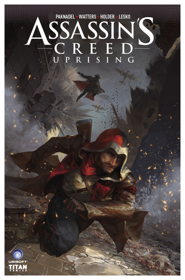 Assassin's Creed: Uprising #7 (Sunsetagain Cover)