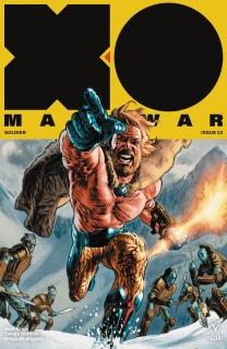 X-O Manowar #3 (Larosa Cover)