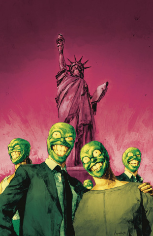 The Mask: I Pledge Allegiance to the Mask #4 (Reynold Cover)