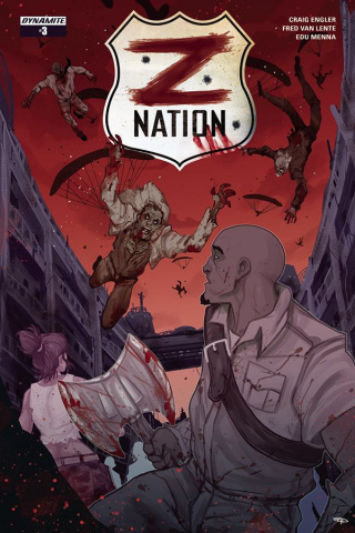 Z Nation #3 (Medri Cover)