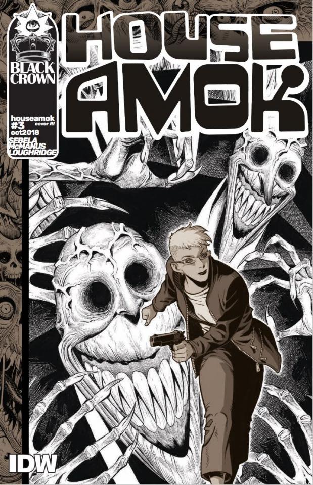 House Amok #3 (10 Copy McManus Cover)