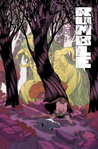 Rumble #12 (Moore & Stewart Cover)