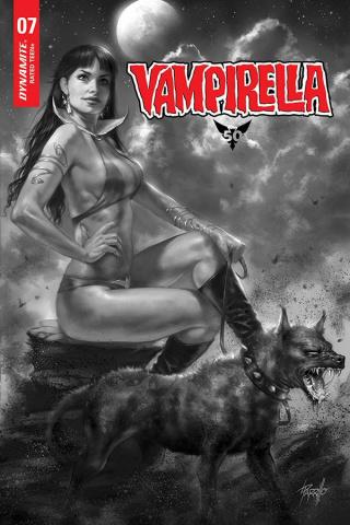 Vampirella #7 (11 Copy Parrillo B&W Cover)