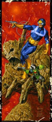 Guardians of the Galaxy #17 (Jusko Corner Box Cover)