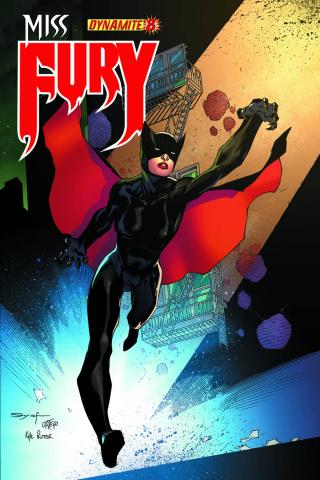 Miss Fury #8 (Syaf Cover)