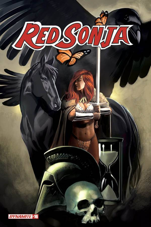 Red Sonja #16 (Bob Q Cover)