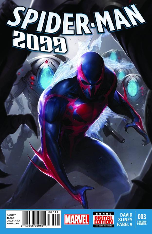 Spider-Man 2099 #3 (2nd Printing)