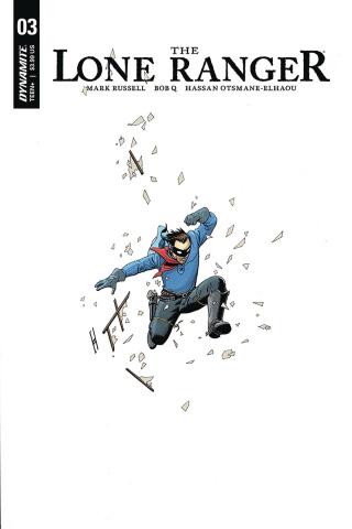 The Lone Ranger #3 (Cassaday Cover)