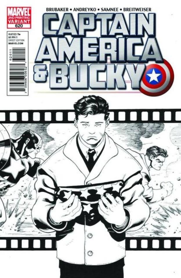 Captain America & Bucky #620 (2nd Printing)