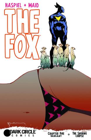 The Fox #5 (Sienkiewicz Cover)