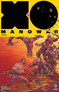 X-O Manowar #4 (Bodenheim Cover)