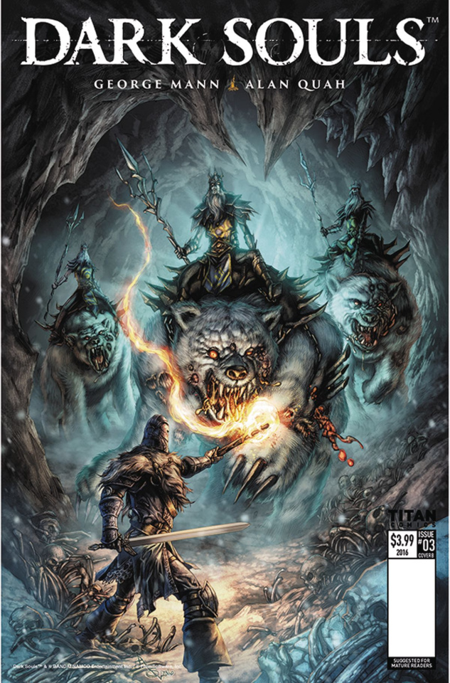 Dark Souls: Winter's Spite #3 (Quah Cover)