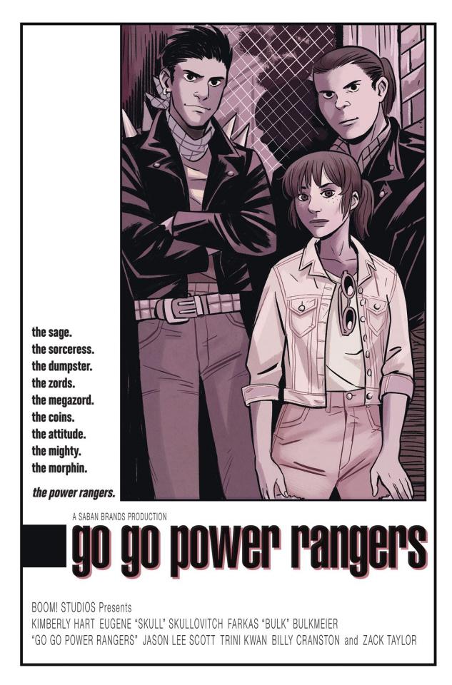 Go, Go, Power Rangers! #5 (25 Copy Bustos Cover)