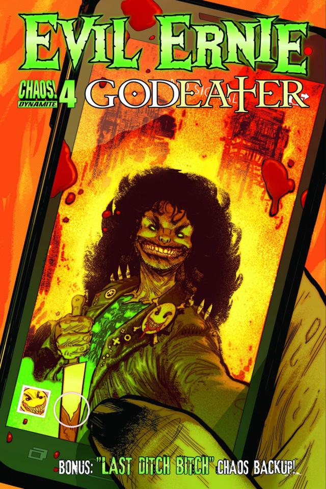 Evil Ernie: Godeater #4 (Strahm Cover)