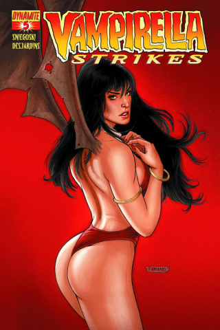 Vampirella Strikes #5 (Neves Cover)