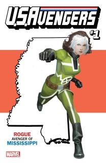 U.S.Avengers #1 (Reis Mississippi State Cover)