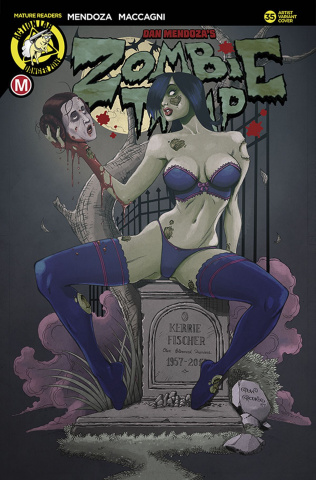 Zombie Tramp #35 (Rodrix Cover)