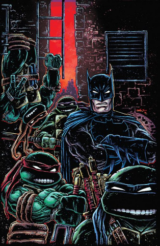 Batman / Teenage Mutant Ninja Turtles III #1 (Variant Cover)