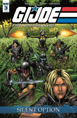 G.I. Joe: A Real American Hero - Silent Option #3 (10 Copy Cover)