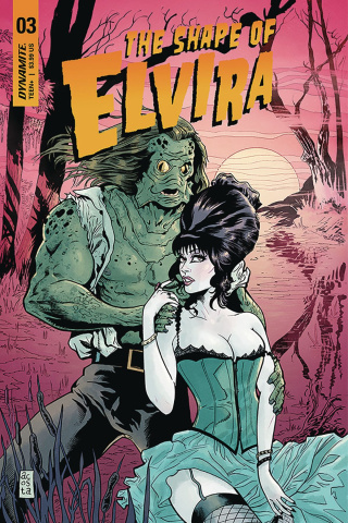 The Shape of Elvira #3 (Acosta Cover)