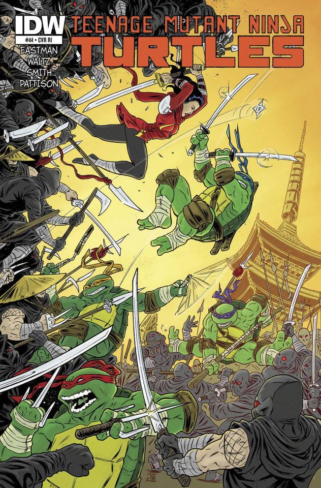 Teenage Mutant Ninja Turtles #44 (10 Copy Cover)