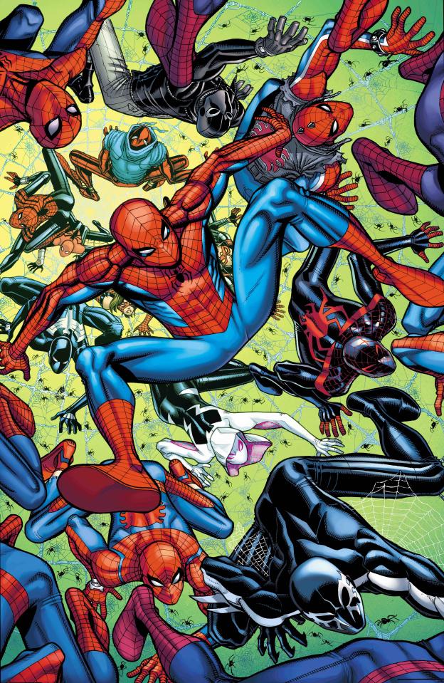 Spider-Geddon #2 (Bradshaw Cover)