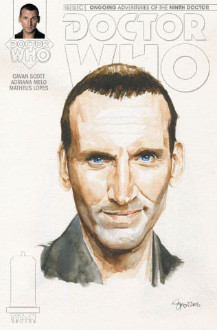 Doctor Who: New Adventures with the Ninth Doctor #5 (Myers Watercolor Cover)