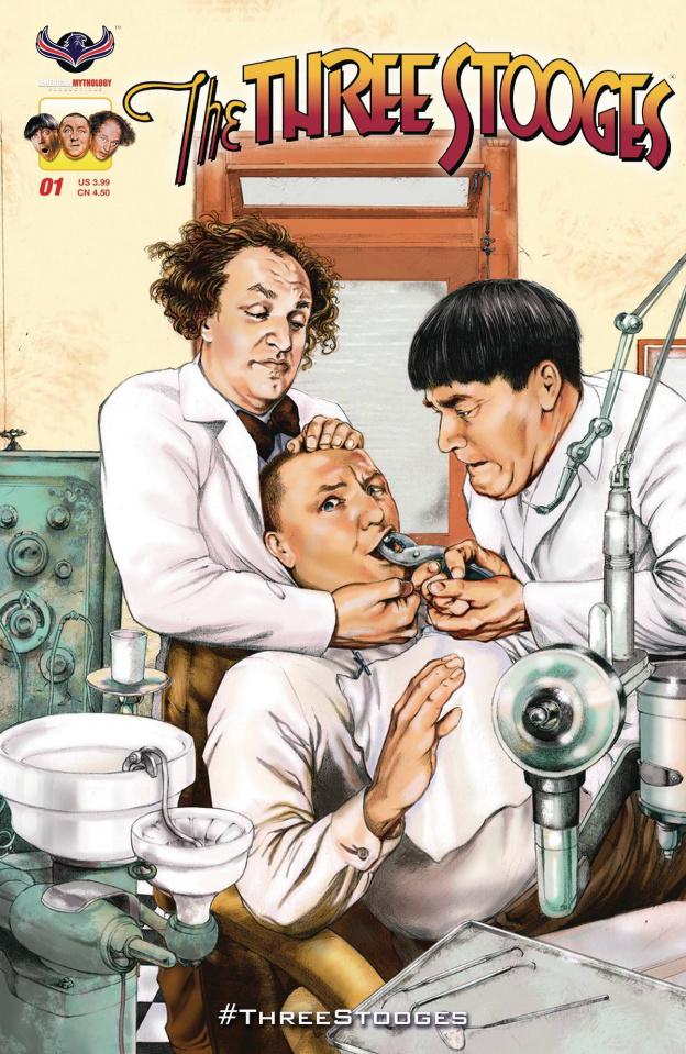 The Three Stooges: Stooge-A-Palooza #1