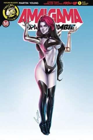 Amalgama: Space Zombie #1 (Chatzoudis Cover)