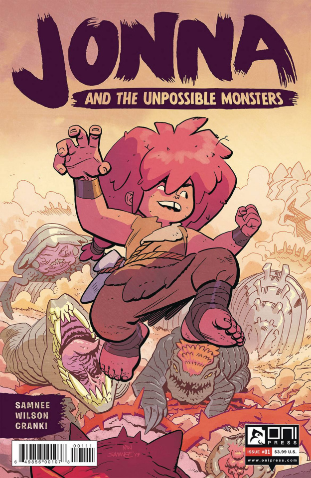 Jonna and the Unpossible Monsters #1 (Samnee Cover)