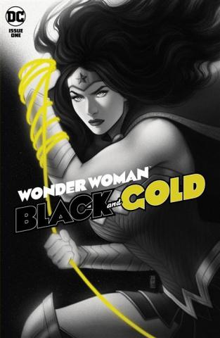 Wonder Woman: Black and Gold #1 (Jen Bartel Cover)