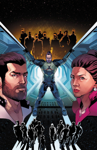 The Expanse #4 (10 Copy Sliney Cover)